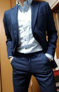 【マッチョ向け】鍛えた体を美しく見せるスーツ!※着用画像あり【スーツ】